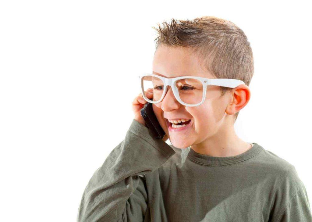 rozmowa telefoniczna dziecka